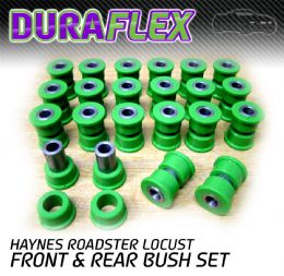 HAYNES ROADSTER FRONT AND REAR BUSH SET